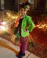The Mad Hatter Girl Homemade Costume