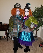 The Mad Hatters Homemade Costume