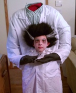 Illusion costume ideas - Mad Scientist Who Lost His Head Costume