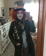 The Maddest Hatter Homemade Costume