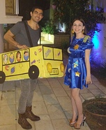 The Magic School Bus Homemade Costume