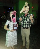 Coolest couples Halloween costumes - The Maitlands Couple Costume