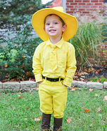The Man in the Yellow Hat Homemade Costume