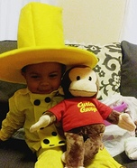 The Man in The Yellow Hat Costume