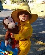 The Man in the Yellow Hat with Curious George Homemade Costume