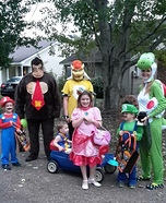 The Mario Kart Gang Homemade Costume