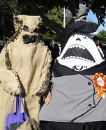 The Mayor and Oogie Boogie Homemade Costume