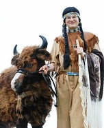 The Miniature Buffalo Homemade Costume