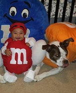 The M&M's Homemade Costumes