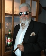 The Most Interesting Man in the World Homemade Costume