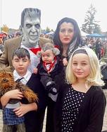 The Munster Family Homemade Costume