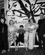 The Munsters Family Homemade Costume