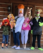 The Muppets! Homemade Costume