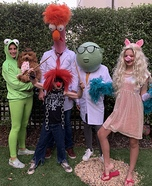 The Muppets Family Costume