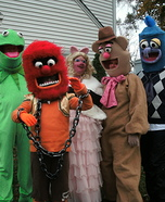 Fun family Halloween costume ideas - The Muppets Family Costumes