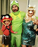 The Muppets Family Homemade Costume