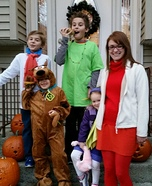 The Mystery Inc. Gang Homemade Costume