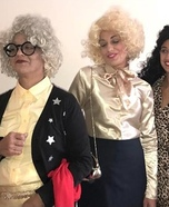 The Nanny Fran, Sylvia and Yetta Homemade Costume