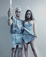 The Night King & Queen Homemade Costume