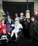The Nightmare Before Christmas Group Costume