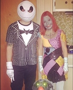 Couple's The Nightmare Before Christmas Costume