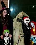 The Nightmare Before Christmas Family Halloween Costume