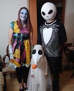 The Nightmare Before Christmas Family Homemade Costume