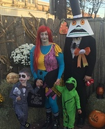 The Nightmare Before Christmas Family Homemade Costume