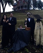 The Original Adams Family Homemade Costume