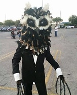 The Owl Man Homemade Costume