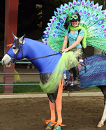 The Peacock Horse Costume