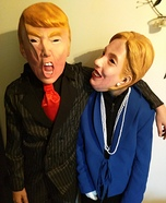 Trump and Hillary Costumes