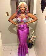 The Perfect Mermaid Homemade Costume