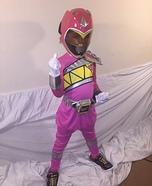 The Pink Ranger Costume