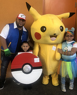 The Pokemon Go Family Homemade Costume