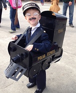 The Polar Express Homemade Costume