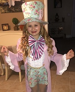 The Pretty Mad Hatter Costume