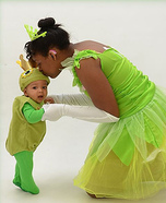 The Princess and the Little Frog Prince Homemade Costume