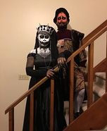 The Pumpkin King and Queen Homemade Costume