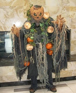 The Pumpkin Man Homemade Costume
