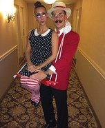 Coolest couples Halloween costumes - The Puppeteer & his Ventriloquist Dummy Costume