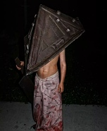 The Pyramid Head Kid Homemade Costume