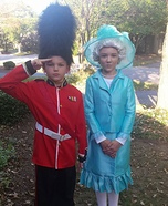 The Queen and Her Guard Homemade Costume