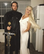 The Queen of Dragons & The King of the North Homemade Costume