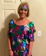 The Rainbow Fish Homemade Costume