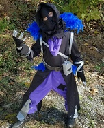 The Raven Homemade Costume