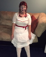 The Real Annabelle Homemade Costume
