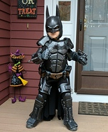 The Real Batman Homemade Costume