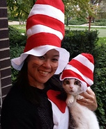 The REAL Cat in the Hat Homemade Costume