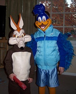 Homemade Roadrunner Costume